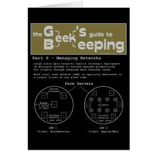 Geek Beekeeping (Networks) - Note Card