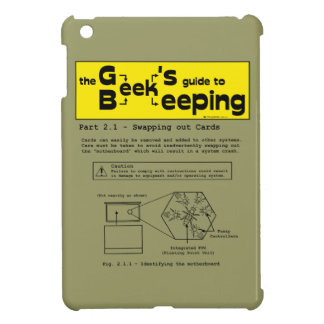 Geek Beekeeping (Swapping Cards) - iPad mini case