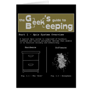 Geek Beekeeping (System Overview) - Note Card