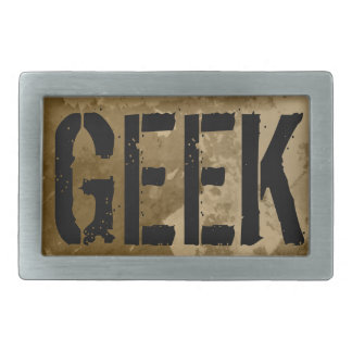 Geek belt buckle design for men | Vintage style