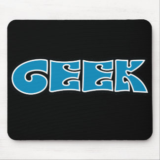Geek Blue Mouse Pads