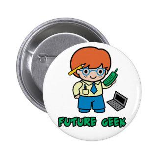 Geek (boy) pins