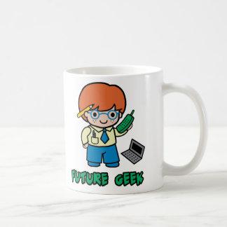 Geek (boy) coffee mug