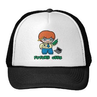 Geek (boy) trucker hat