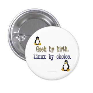 Geek by birth. Linux by choice. 1 Inch Round Button