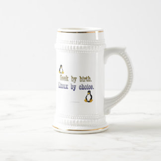 Geek by birth. Linux by choice. Beer Stein