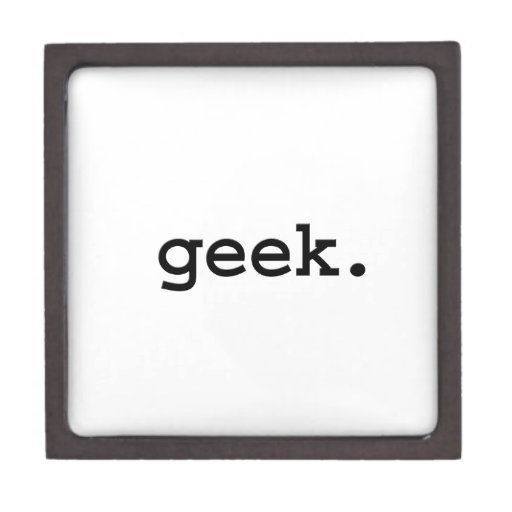 geek. caja de regalo de calidad