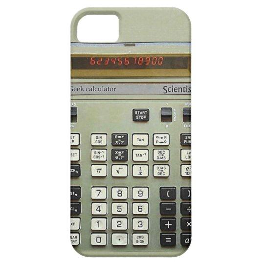 Geek calculator iPhone SE/5/5s case