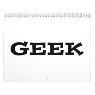 Geek Calendar