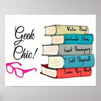 Geek Chic Poster