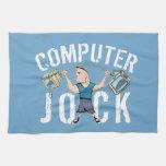 Geek Computer Jock Hand Towel