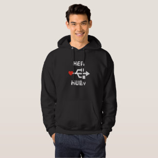 Geek Couple Shirt Her HUBy Collection