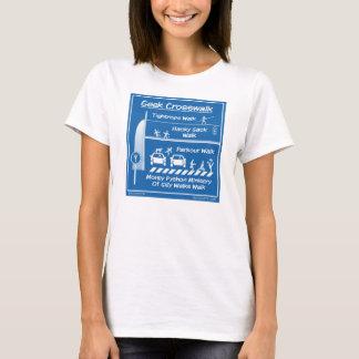 """""""Geek Crosswalk"""" Women's T-shirt"""