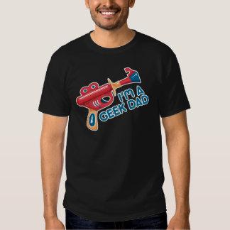 Geek Dad Dark Color Tee Shirt