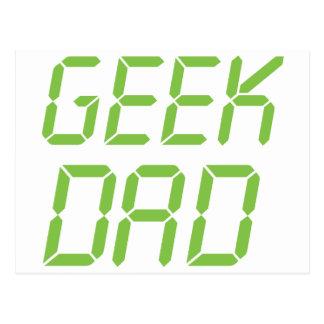 Geek Dad Postcard