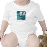 Geek Dads Weekly Logo Rompers