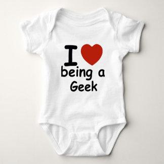 geek design baby bodysuit