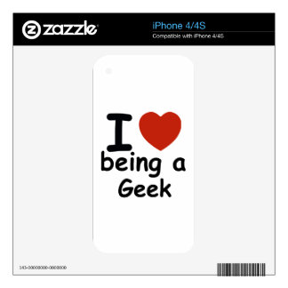 geek design skins for iPhone 4S