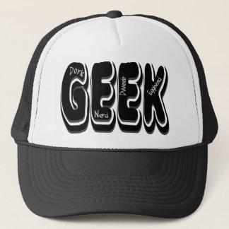 GEEK! Dork Dweeb Nerd and Egghead Trucker Hat