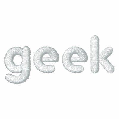 Geek - Embroidered Shirt