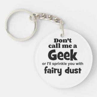 Geek fairy dust bf keychain