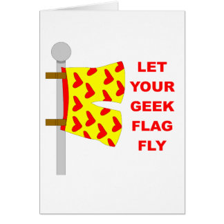 geek flag card