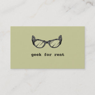 Web developer business cards templates zazzle geek for rent web developer business card colourmoves
