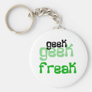 Geek Freak Keychain
