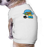 geek girl 1 dog t-shirt