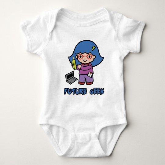 Geek Girl Baby Bodysuit