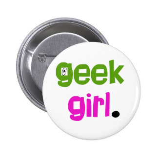 Geek Girl Button