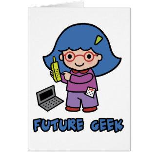 Geek Girl Card