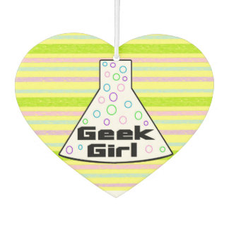 Geek Girl Freshener - Marie Curie quote