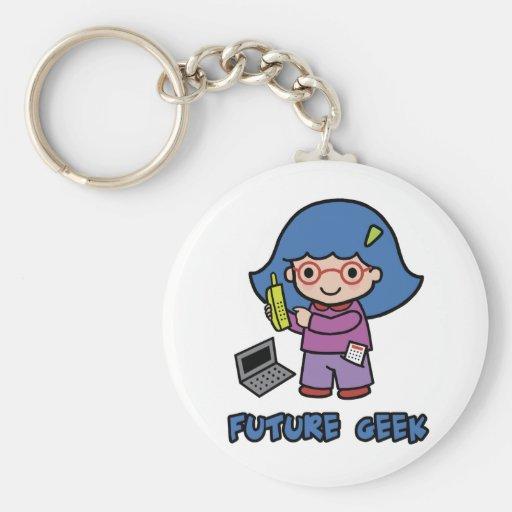Geek Girl Keychains