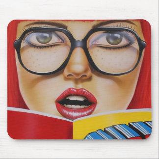 Geek Girl Mouse Pad