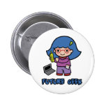 Geek Girl Pins