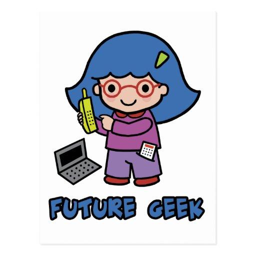 Geek Girl Postcards