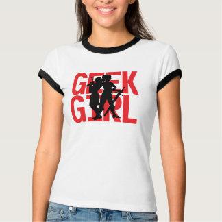 Geek Girl Ringer T-Shirt