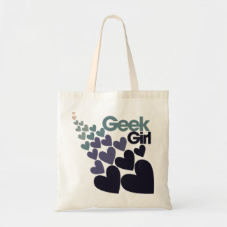 Geek Girl Tote Bag