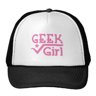 Geek girl trucker hat