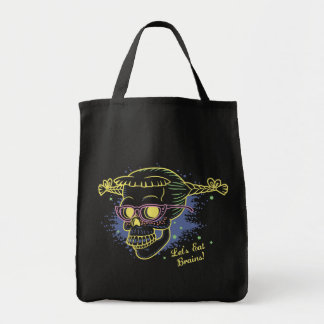 Geek Girl Zombie Skull Bags
