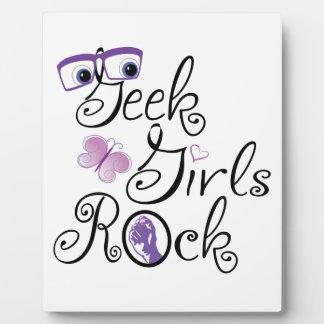 Geek Girls Rock! Plaque