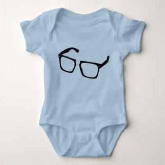 Geek glasses baby bodysuit