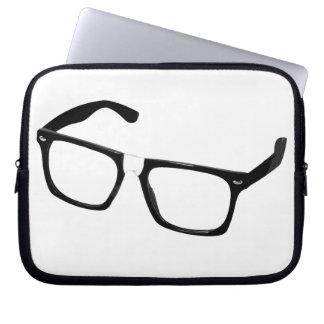 Geek glasses computer sleeve