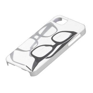 Geek glasses nerds nerd black iPhone 5 case
