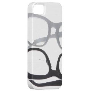 Geek glasses nerds nerd black iPhone 5S 4 case