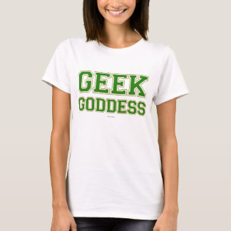 Geek Goddess Kelly Green T-Shirt