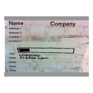 geek grafitti business card templates