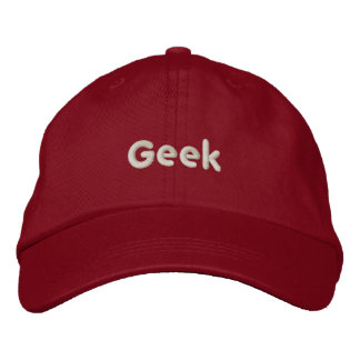 Geek Hat Embroidered Hats