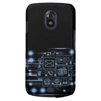 Geek Hi-Tech Concept Initials Samsung Galaxy Nexus Samsung Galaxy Nexus Cover